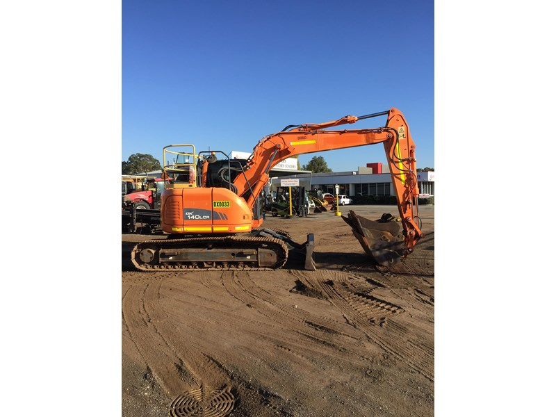doosan dx140lcr - excellent condition - low hours! 703003 002
