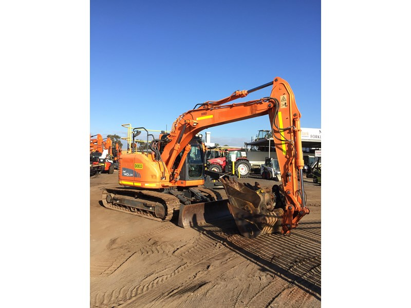 doosan dx140lcr - excellent condition - low hours! 703003 003
