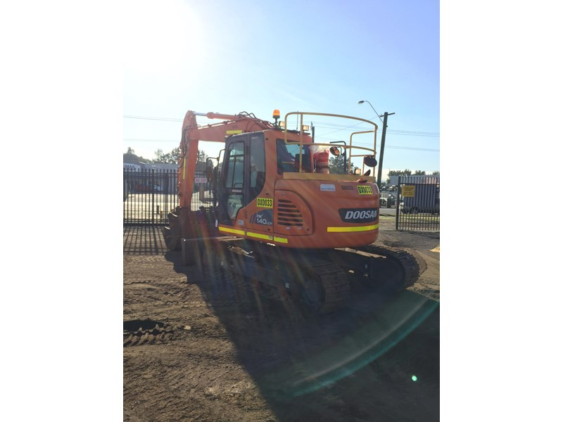 doosan dx140lcr - excellent condition - low hours! 703003 006