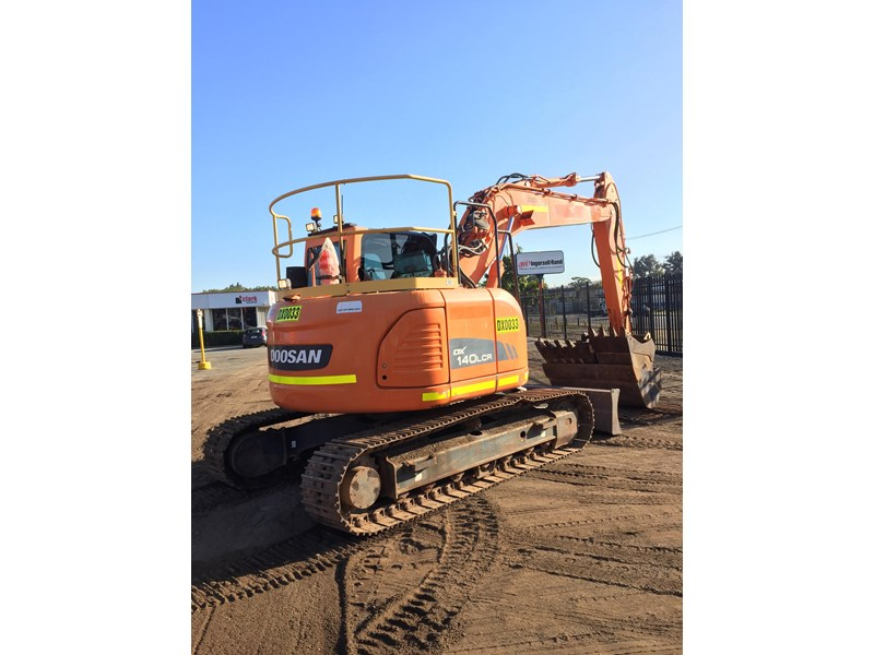 doosan dx140lcr - excellent condition - low hours! 703003 008