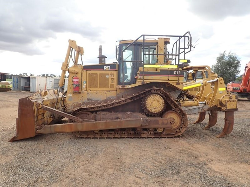 caterpillar d7r series ii 662837 002