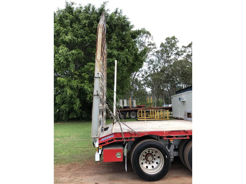 maxitrans 45ft drop deck extendable with ramps 704430 016