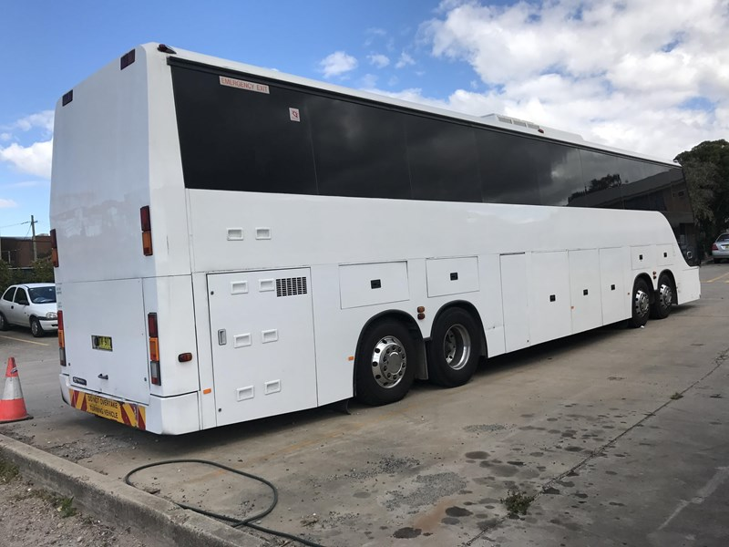 scania k113trb 14.5 metre four axle coach, 1997 model 418611 004