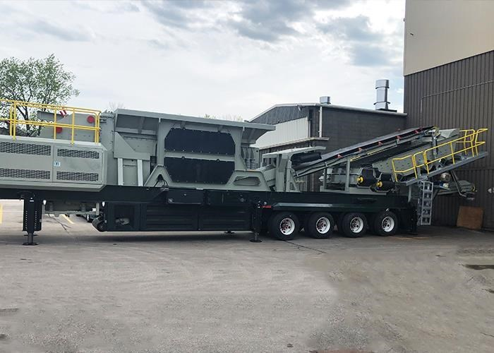 LIPPMANN 4800R PORTABLE IMPACT CRUSHER PLANT for sale