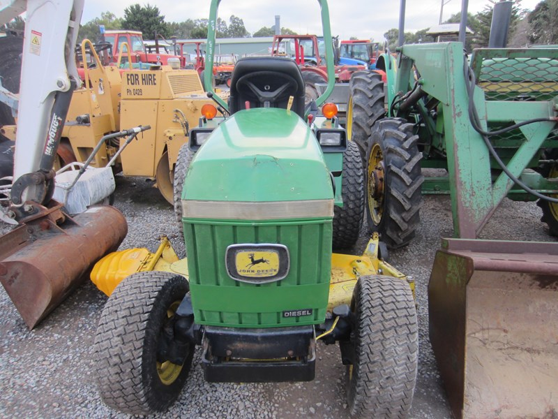 JOHN DEERE 855 TRACTOR 4 X 4 FITTED WITH 60