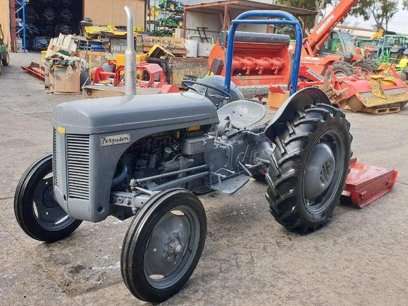 MASSEY FERGUSON TEA20 Slasher Tractor for sale