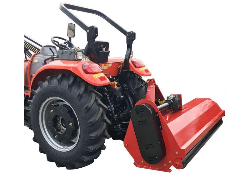 multiquip flail mower 5.5 ft heavy duty mulcher 1720 mm cut with hammer blades, suit tractor pto driven 712024 004