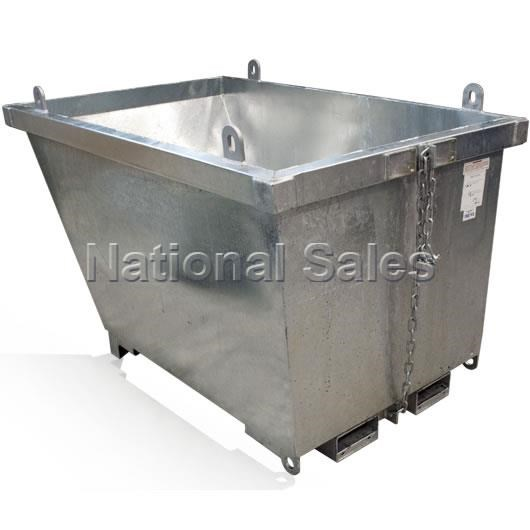 generic/unknown crane bin 0.35m3 with fork pockets 714235 002