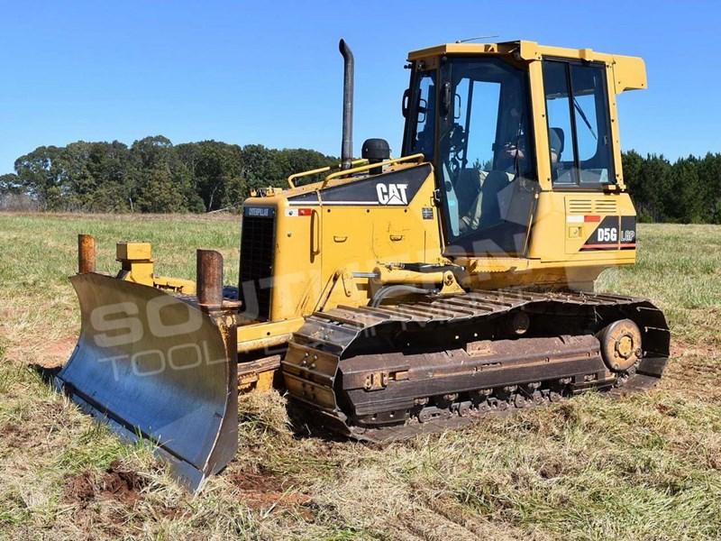 2006 CATERPILLAR D5G Bulldozer CAT D5 Dozer Rippers Sweeps Screens
