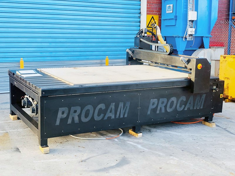 procam cnc router machine with auto tool change and vacuum table - 2.4m x 1.8m 721644 001