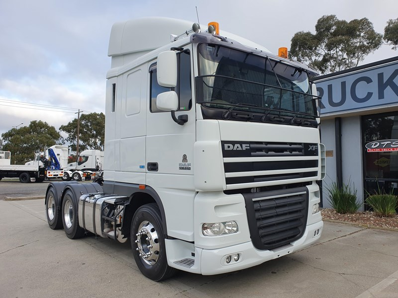 2013 DAF XF105 PRIME MOVER  for sale