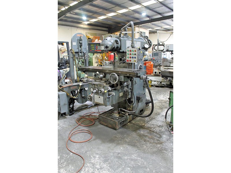 pacific fcm 1600 universal milling machine 726208 001