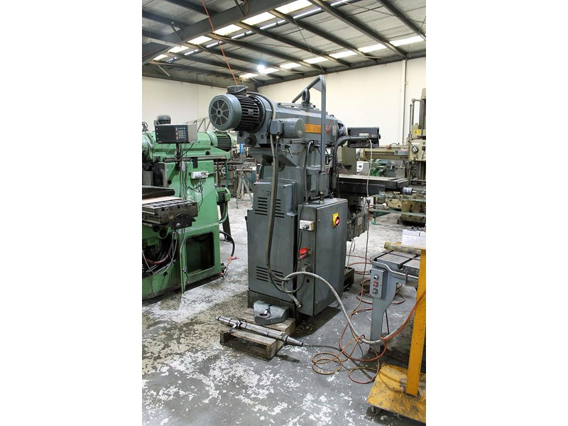 pacific fcm 1600 universal milling machine 726208 004
