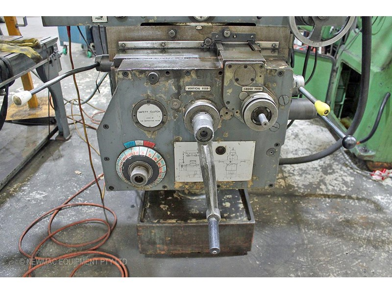 pacific fcm 1600 universal milling machine 726208 010