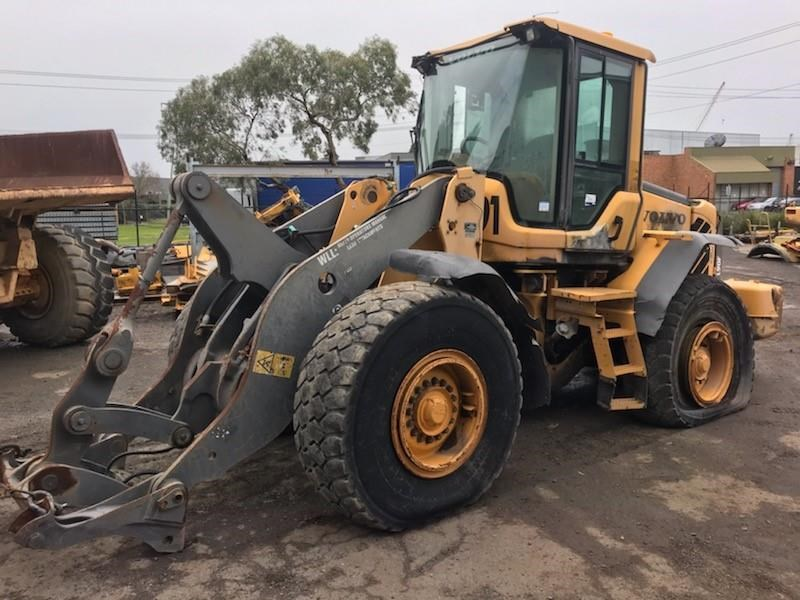 volvo volvo l90f wheel loader 726761 002