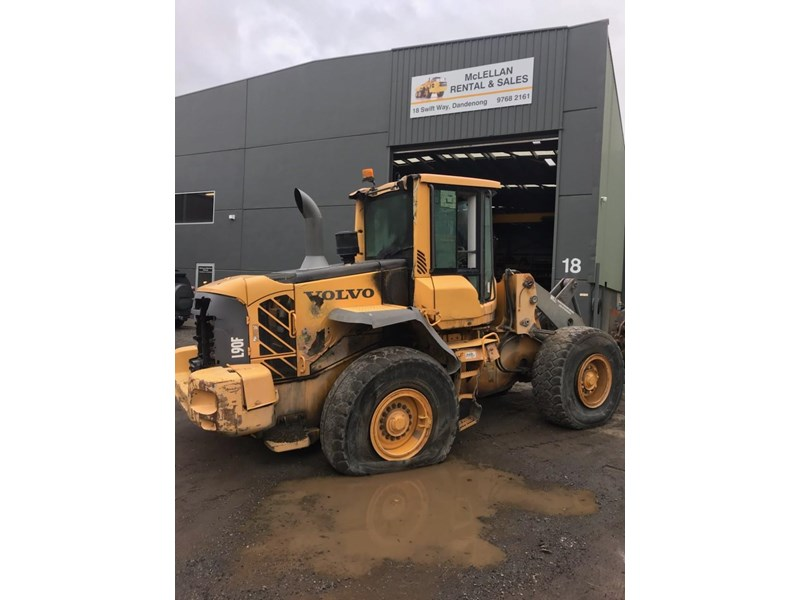 volvo volvo l90f wheel loader 726761 001
