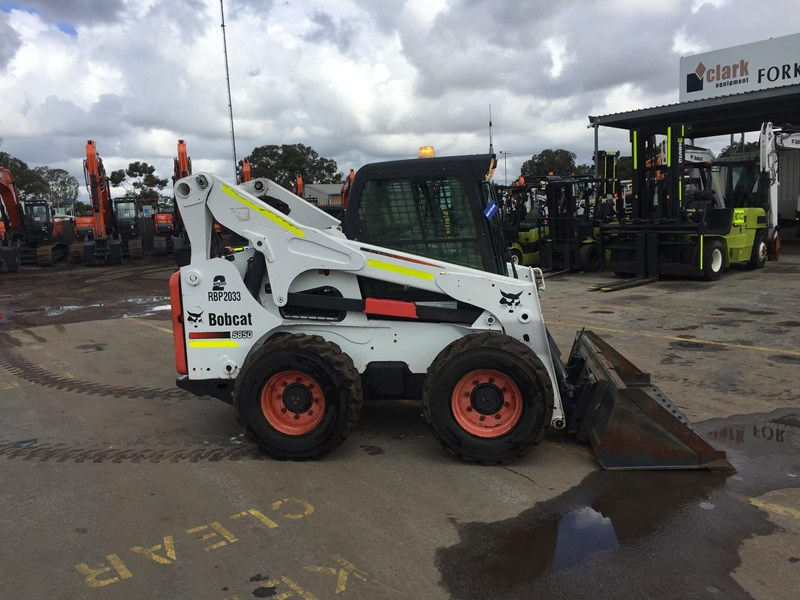 bobcat s850 - low hrs - great condition!! 727851 001