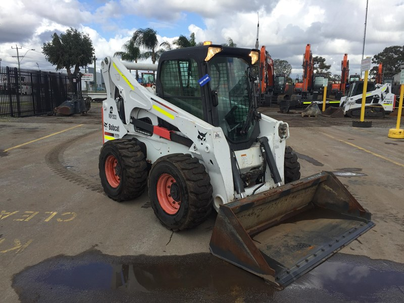 bobcat s850 - low hrs - great condition!! 727851 002
