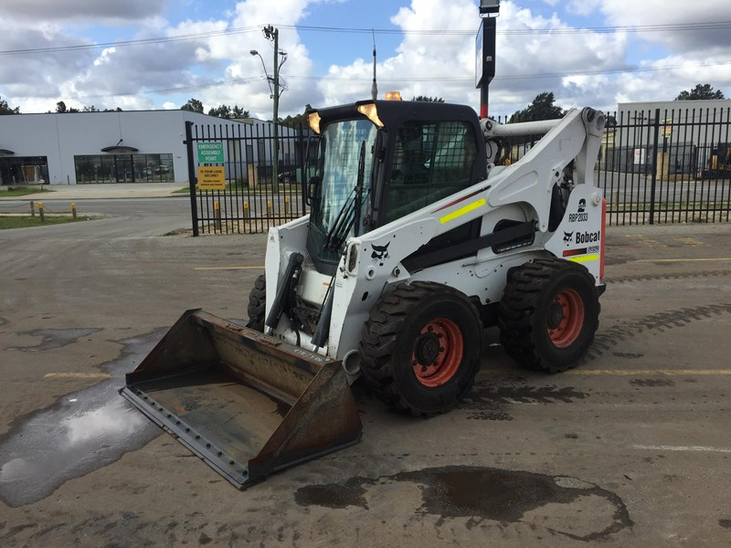 bobcat s850 - low hrs - great condition!! 727851 004