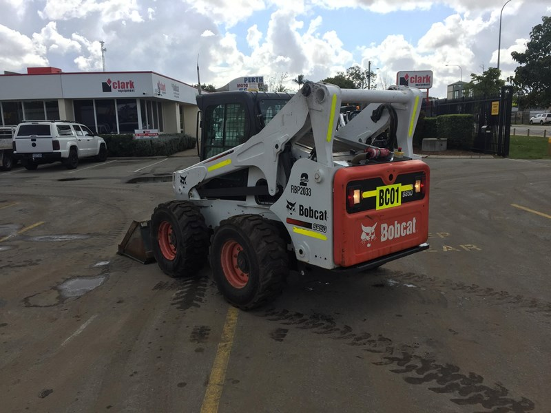 bobcat s850 - low hrs - great condition!! 727851 006