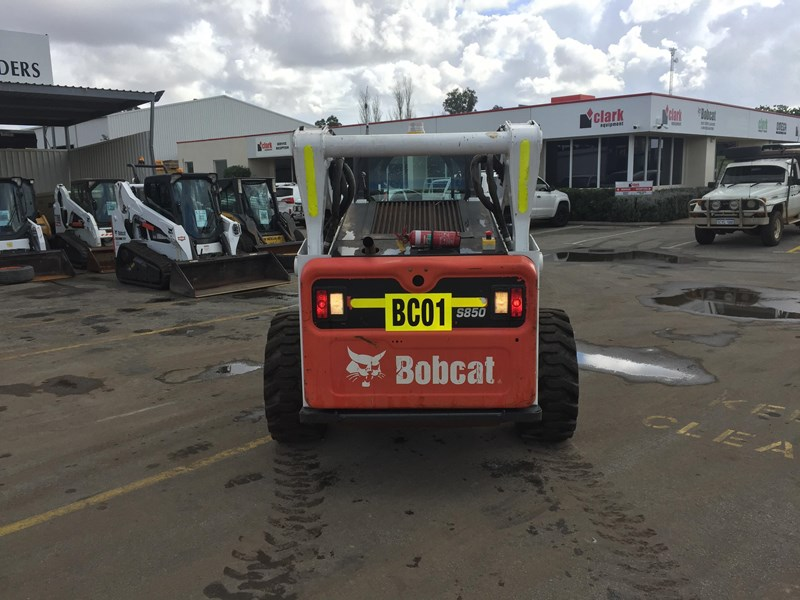 bobcat s850 - low hrs - great condition!! 727851 007