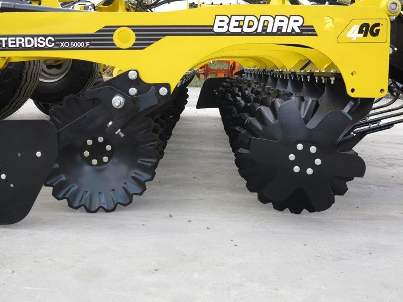 bednar swifterdisc xof 5000 5.0m high speed disc cultivator 728004 013