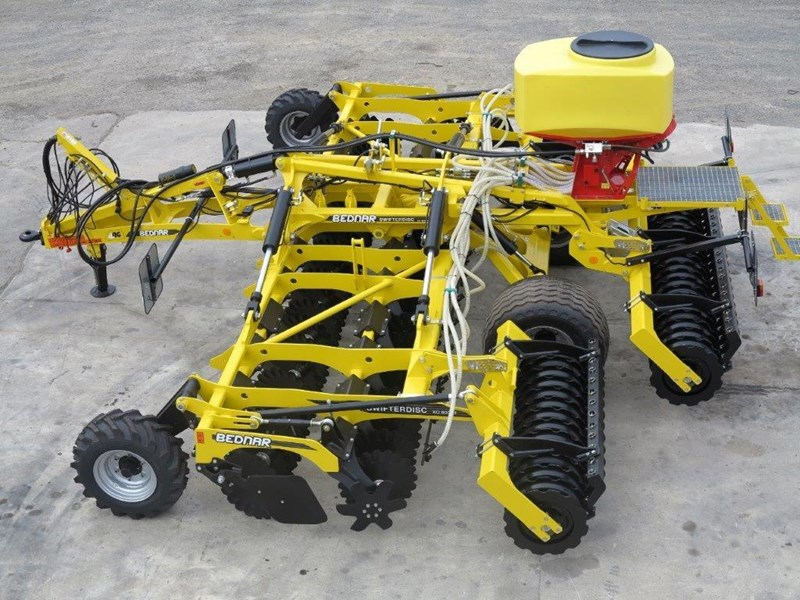 bednar swifterdisc xof 5000 5.0m high speed disc cultivator 728004 016