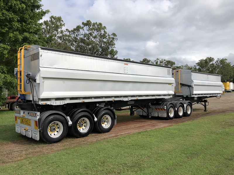 graham lusty trailers b-double aluminium side tippers 732294 002