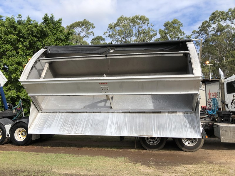 graham lusty trailers b-double aluminium side tippers 732294 037