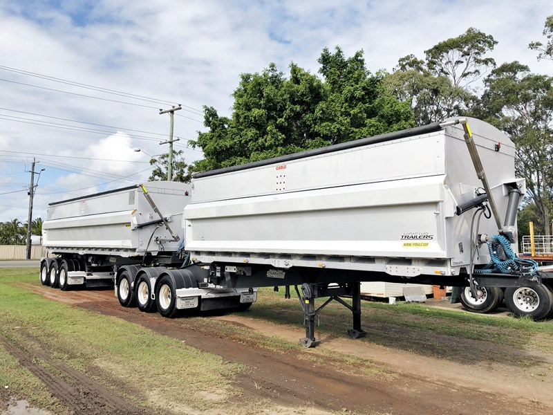 graham lusty b-double aluminium side tipper 730809 001