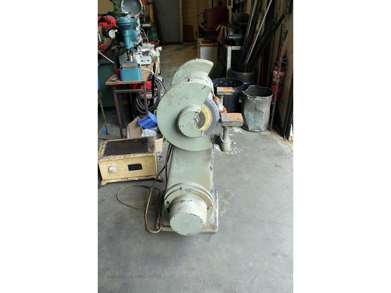 hebco 300mm pedestal grinding machine 742745 002
