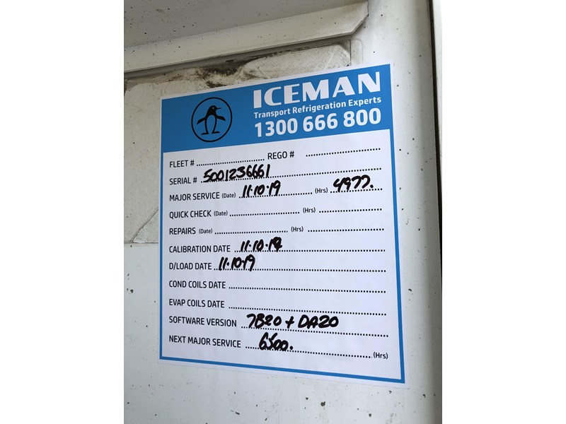 maxitrans b-double 34 pallet refrigerated tautliners 744816 040
