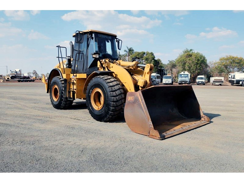 caterpillar 950h loader 751560 001