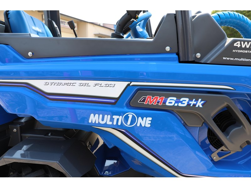 multione 6.3+ bee loader with side shift forks 583153 024