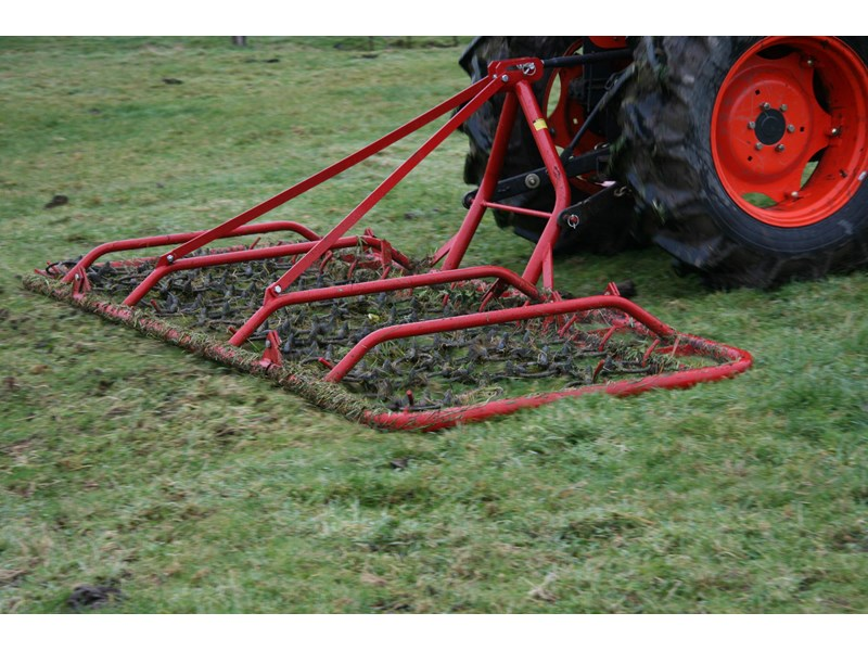 kanga farm equipment pasture harrow rake | 4m manual folding | cat 1 756122 001