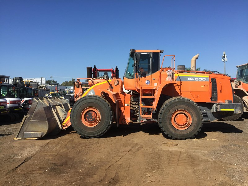 doosan dl500 (30t) wheel loader 756123 001