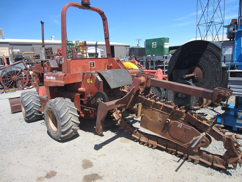 ditch witch 4010dd wheeled trencher 756550 008