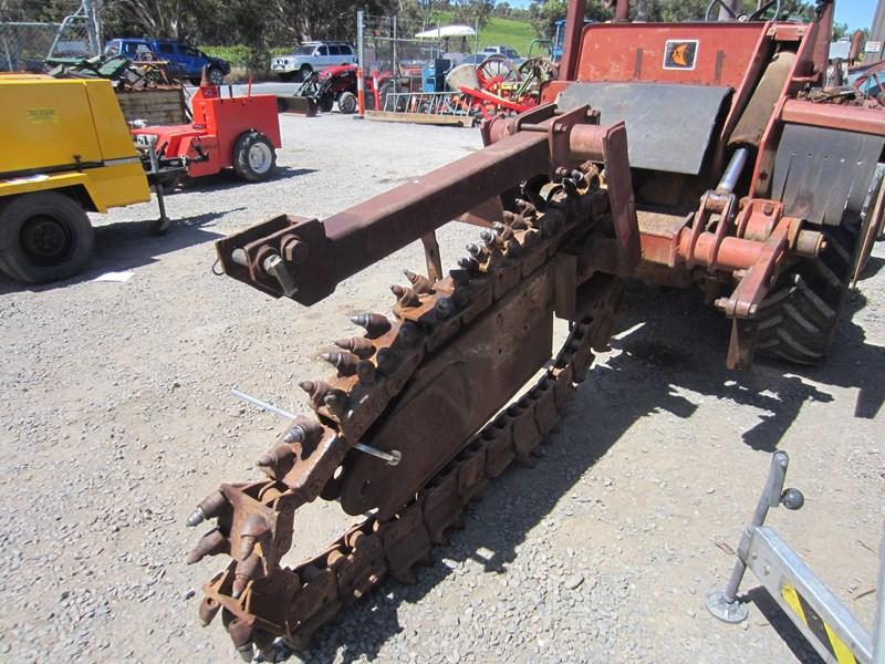 ditch witch 4010dd wheeled trencher 756550 010