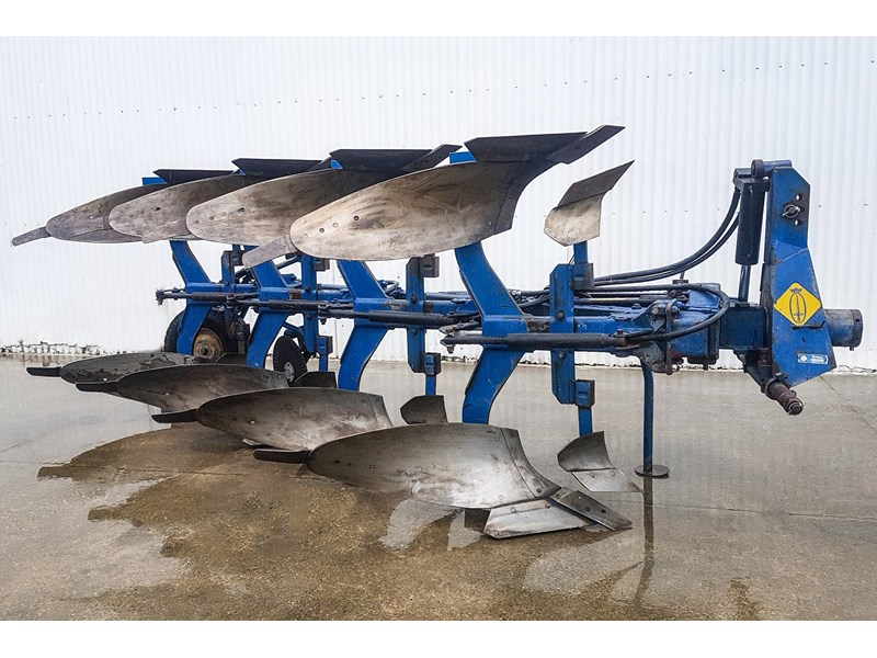 overum cv498h 4 furrow reversible plough 747509 001