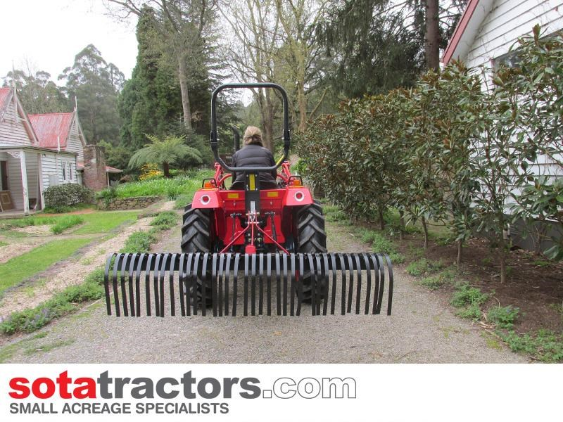 kubota l2402dt tractor with 4 in 1 fel 28hp 55502 010