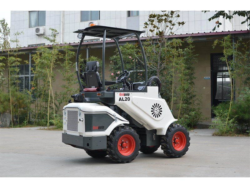 ozziquip al20 articulated loader with telescopic boom 758765 014