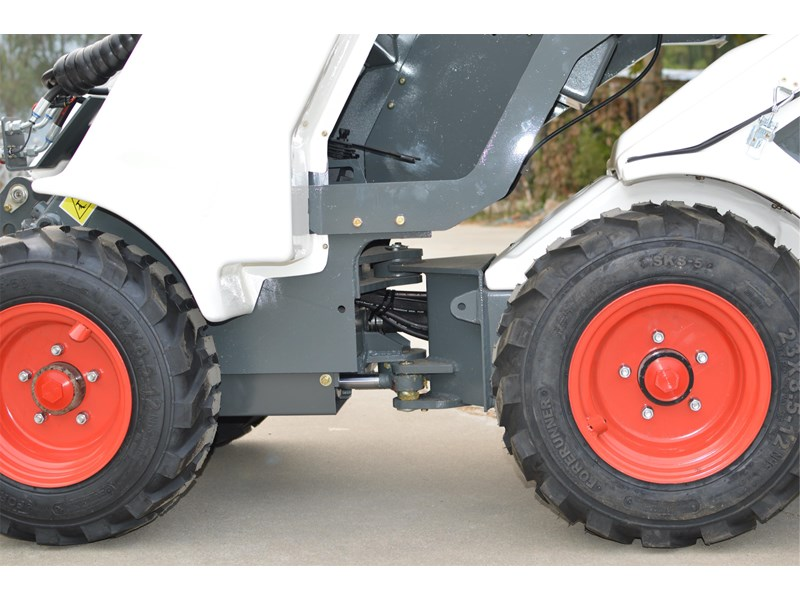 ozziquip al20 articulated loader with telescopic boom 758765 018