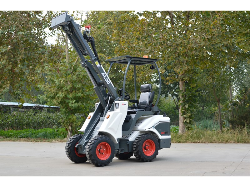ozziquip al20 articulated loader with telescopic boom 758765 008