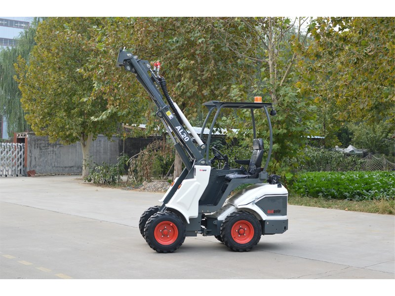 ozziquip al20 articulated loader with telescopic boom 758765 020