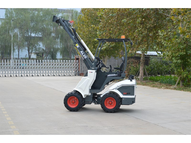 ozziquip al20 articulated loader with telescopic boom 758765 007
