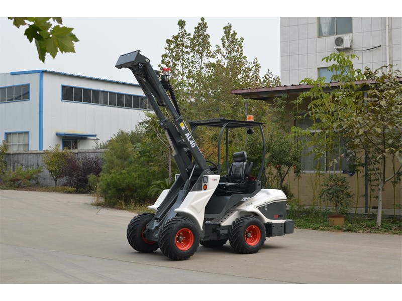 ozziquip al40 articulated loader with telescopic boom 759131 002