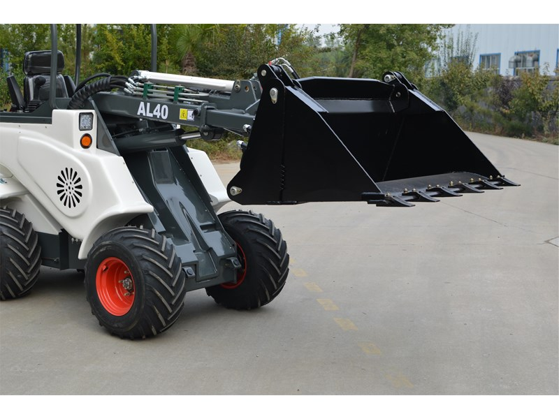 ozziquip al40 articulated loader with telescopic boom 759131 004