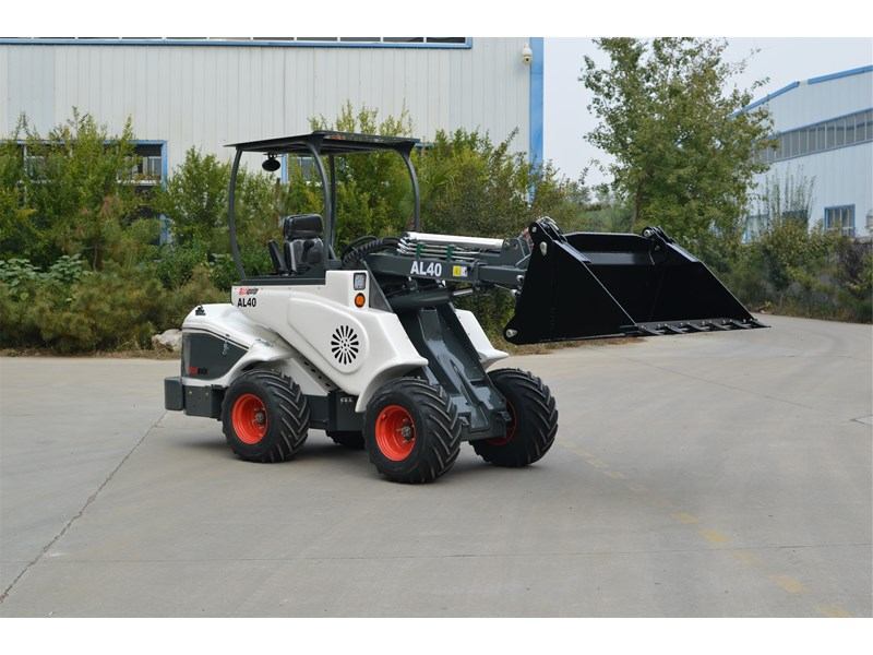 ozziquip al40 articulated loader with telescopic boom 759131 005