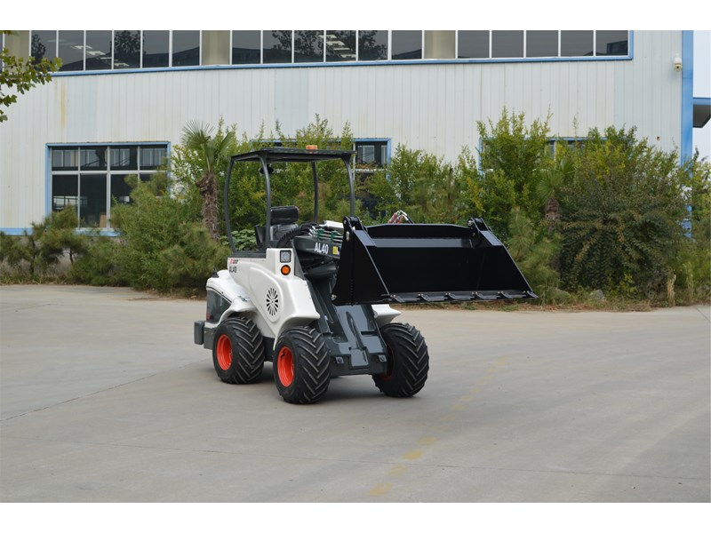 ozziquip al40 articulated loader with telescopic boom 759131 006