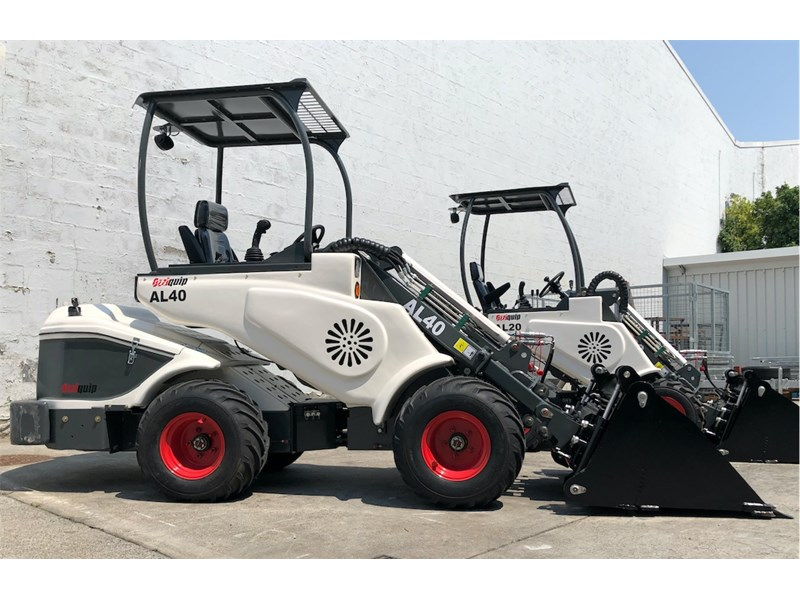 ozziquip al40 articulated loader with telescopic boom 759131 013